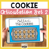 Cookie No Print Articulation Activity Later Developing Sounds