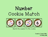 Cookie Number Match 1-10