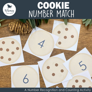 Cookie Number Match Game
