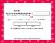 Cookie Party Love - Editable Word Worksheet w/ Theme Focus