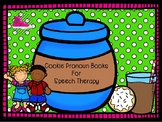 Cookie Pronoun Books for Speech Therapy