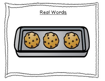 Cookie Real and Nonsense Word Sort