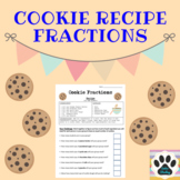 Cookie Recipe Fractions - FREE!