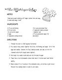 Cookie Recipe Reading Comprehension