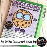 Cookie Shapes! File Folder Assessment Game [Shapes]