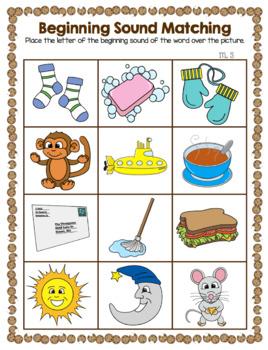 Cookie Sheet Activities - Beginning Sounds