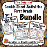 Cookie Sheet Activities First Grade Bundle