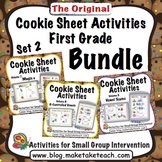 Cookie Sheet Activities First Grade Bundle Set 2