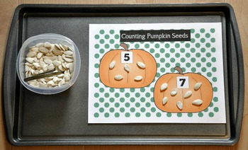 Halloween Cookie Sheet Activities