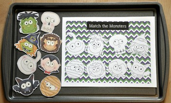 Halloween Cookie Sheet Activities