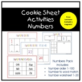 Cookie Sheet Activities - Numbers