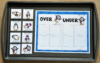 """Cookie Sheet Activities:  """"Penguin Positionals"""""""