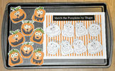 Pumpkin Cookie Sheet Activities