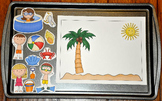 Summer Themed Cookie Sheet Activities