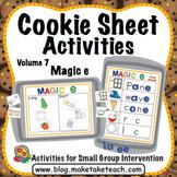 Magic e - Cookie Sheet Activities Volume 7