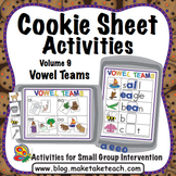 Vowel Teams - Cookie Sheet Activities Volume 9