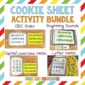 Cookie Sheet Activity Bundle - Heidi Songs