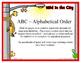Cookie Sheet Alphabet Pattern Challenge ~ FREE ~ Upper & L