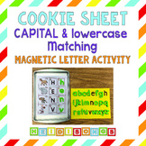 Cookie Sheet Alphabet Capital and Lowercase Matching with Magnetic Letters
