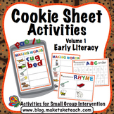 ABC Order, Rhyme, Making Words - Cookie Sheet Activities Volume 1