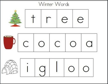 Cookie Sheet Fun: Making Winter Words With Magnetic Letters!