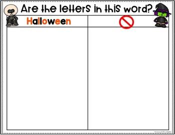 Halloween Activities with Cookie Sheets