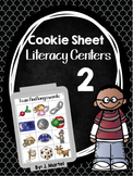 Cookie Sheet Literacy Centers 2