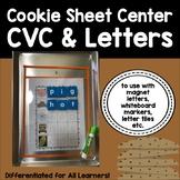 Cookie Sheet & Magnet Letters Activity Bundle {A pack of l