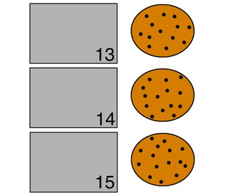 Cookie Sheet: Matching Numbers Game