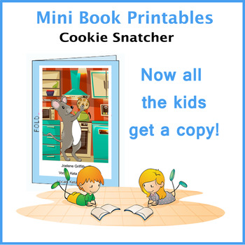 Cookie Snatcher Mini Book
