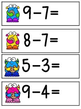 Cookie Subtraction Mat