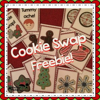 Cookie Swap FREEBIE! (for attributes or open ended reinforcement)