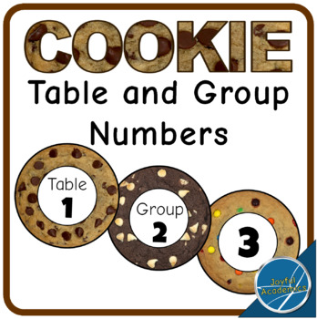 Cookie Table and Group Numbers