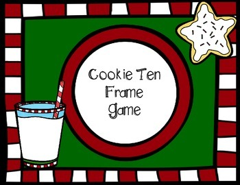 Cookie Ten Frame Activity