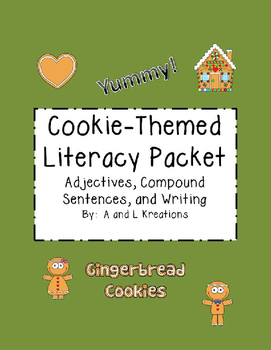 Cookie-Themed Literacy Packet