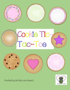 Cookie Tic-Tac-Toe