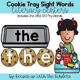 Cookie Tray Sight Words- Includes first 100 Fry words