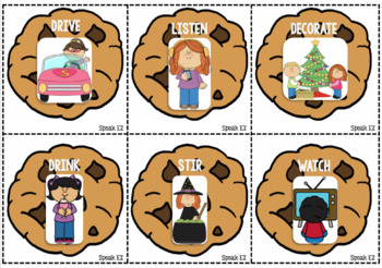 Cookie Verbs