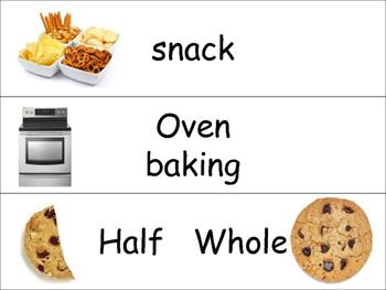 Cookie Vocabulary