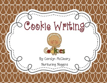 Cookie Writing Project (includes circle and tree maps)