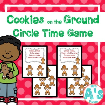 Cookie on the Ground Circle Time Game