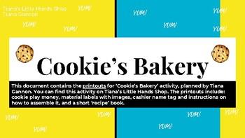 Cookie's Bakery - Printables