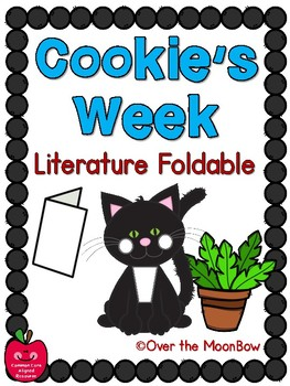 Cookie's Week | Literature Retelling Foldable