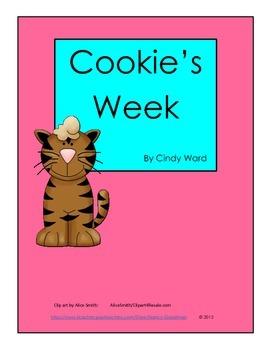 Cookie's Week by Cindy Ward reading unit printables