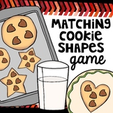 Cookie shape matching cards