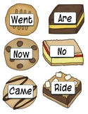 Cookie sight Words: Dolch Primer List