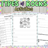 Rock Activity and Graphic Organizer