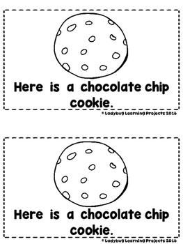 Cookies  (A Sight Word Emergent Reader and Teacher Lap Book)