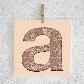 Cookies Alphabet Clipart
