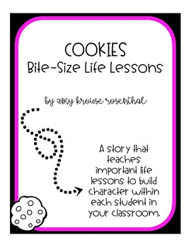 Character Education - Activity book for Cookies Bite Size